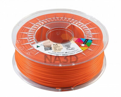 PLA filament oranžový Sunset 1,75 mm Smartfil 1kg