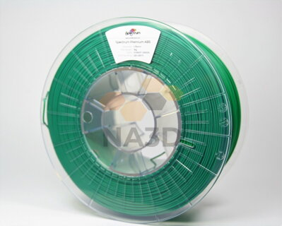 Filament SPECTRUM ABS SMART Forrest Green 1,75 mm 1 kg