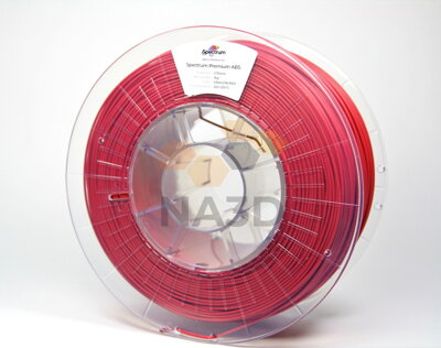 SPECTRUM ABS Dragon Red 1,75 mm 0,85 kg