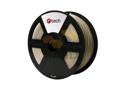 C-TECH PLA BRONZE 1,75 mm 1 kg (C-TECH PLA BRONZOVÁ 1,75 mm 1 kg)